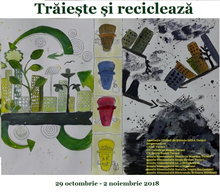 Afiș reciclare 2018