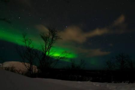 lapland, kiruna, suedia 21 decembrie 2015
