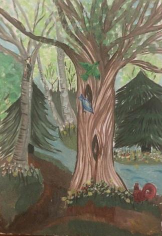 Avram Robert - Pădurea, eterna ședință a copacilor