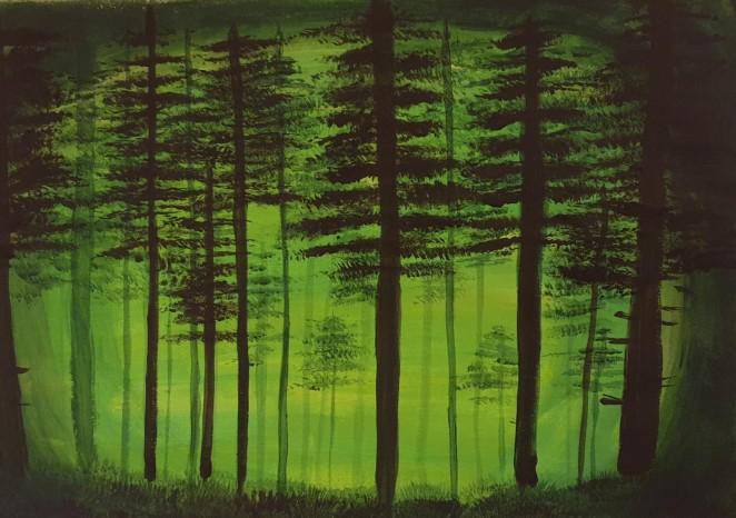 Ghiorghiță Diana - Pădure umbroasă