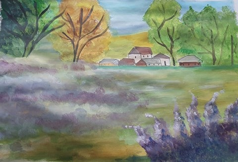 Un loc liniștit - Văleanu Cosmina