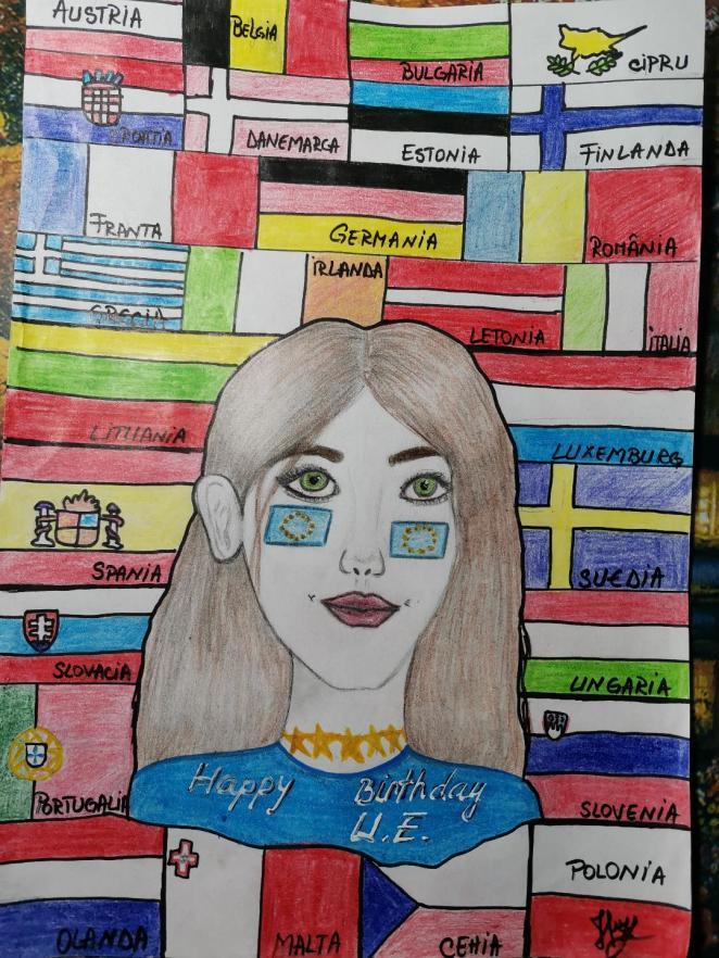 Țârțâră Isabela - Doamna Europa